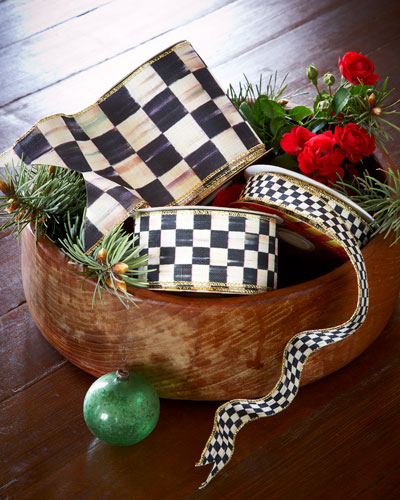 Courtly Check 4 Ribbon