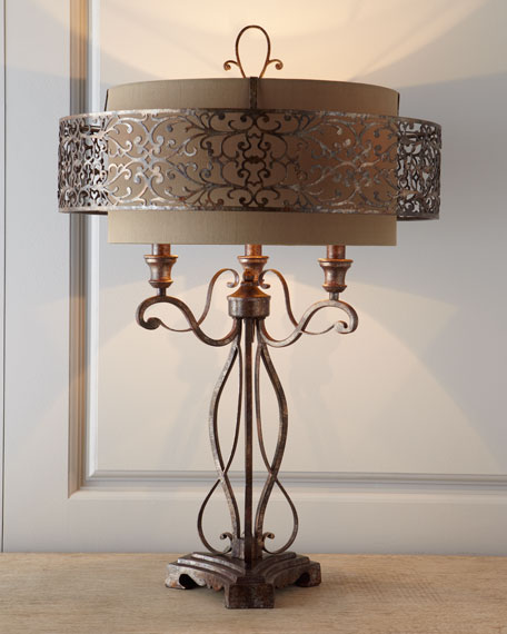 Moroccan Inspired Lamp