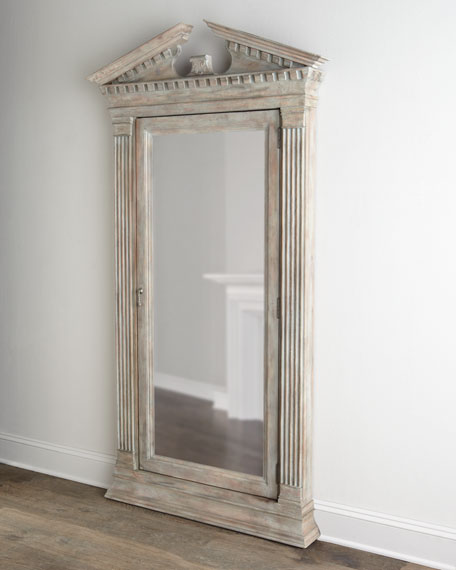 Cavalier Storage Floor Mirror