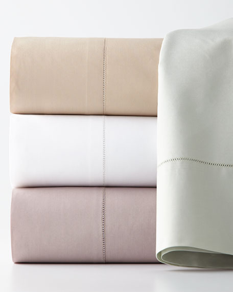 Queen 406TC Percale Fitted Sheet