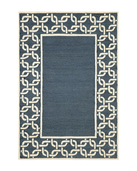 "Border Link Outdoor Rug, 8'3"" x 11'6"""