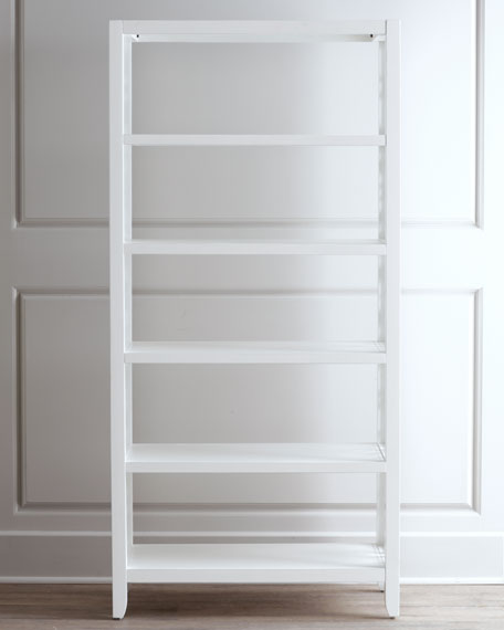 White Spur Bookcase