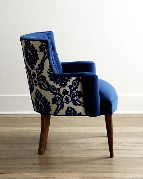 Superbe Tiffany Damask Chair