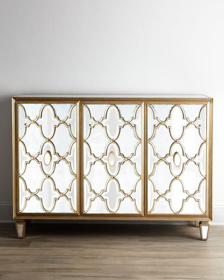 John Richard Collection Arabesque Mirrored Console