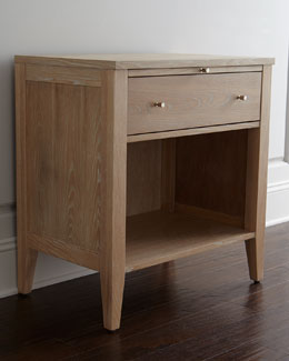 """Karington"" Natural Nightstand"