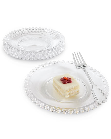 Four Chesterfield Dessert Plates