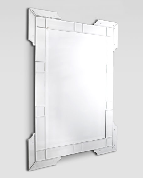 Embellished Corners Mirror
