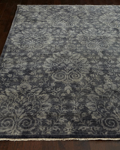 Twilight Arabesque Rug, 4' x 6'