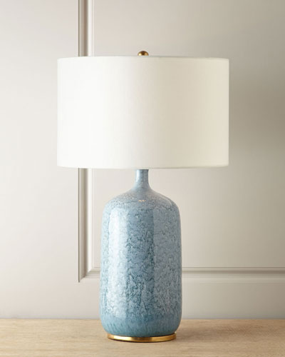 Culloden Blue Lagoon Table Lamp
