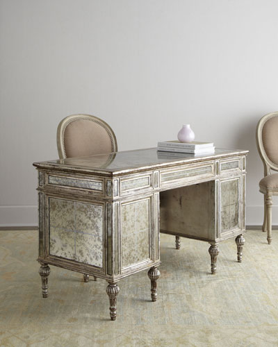 Sheridan Mirrored Desk