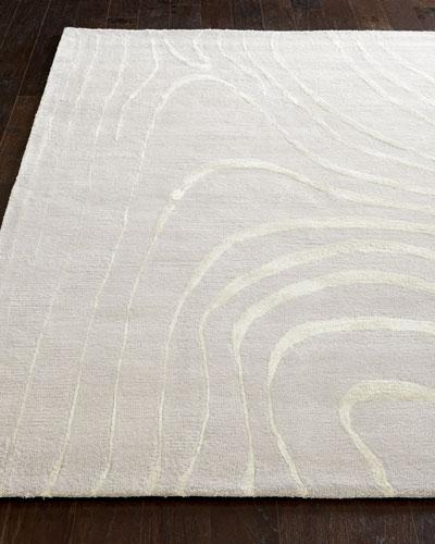 Silver Wisp Rug  5' x 8'
