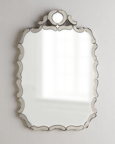 Antiqued Nicole Mirror