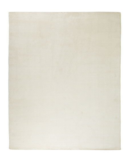 Mistie Herringbone Rug, 8' x 10'