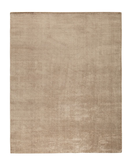 Mistie Herringbone Rug, 10' x 14'