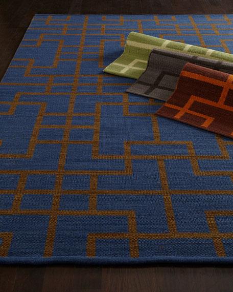 "Interlock Maze Rug, 3'6"" x 5'6"""