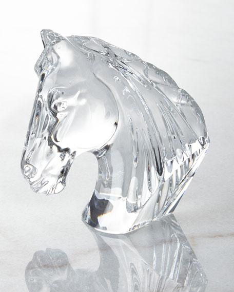 Horse Head Figurine