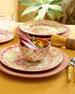 12-Piece Ikat Dinnerware Service