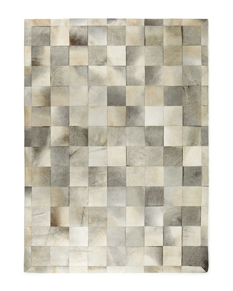 "Winslow Hide Blocks Rug, 9'6"" x 13'6"""