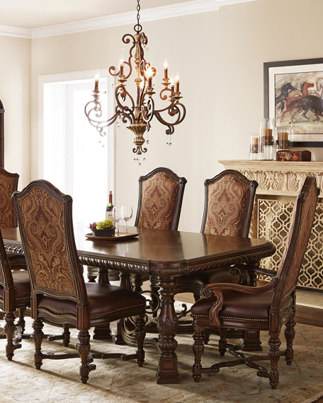 Colette Trestle Dining Table