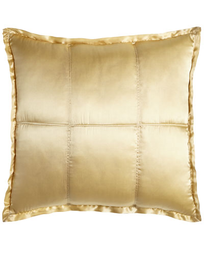 Reflection Quilted Silk European Sham