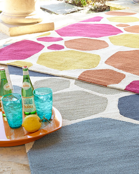 "Kandee Indoor/Outdoor Rug, 3'6"" x 5'6"""