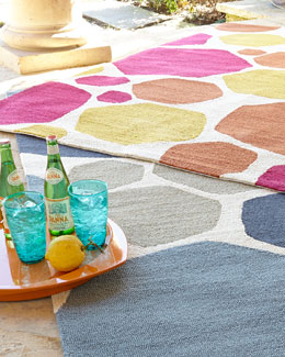 Kandee Indoor/Outdoor Rug, 5' x 7'6