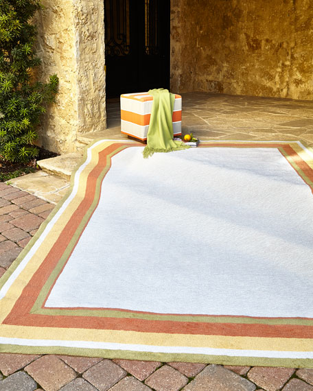 "Hartin Indoor/Outdoor Rug. 7'6""  x 9'6"""