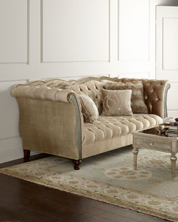 Haute House Leslie Tufted Sofa