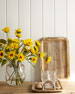 Indian Summer Faux Sunflowers Floral Arrangement