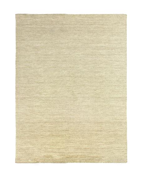 Heathered Flatweave Rug, 9' x 12'