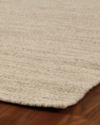 Heathered Flatweave Rug  10' x 14'