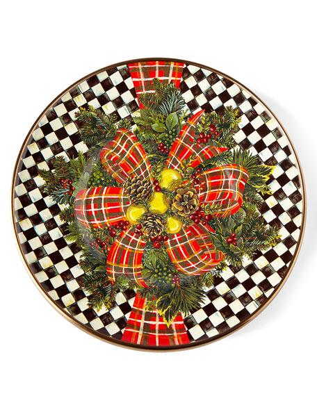 139e00f85376 MacKenzie-Childs Evergreen Christmas Dinnerware