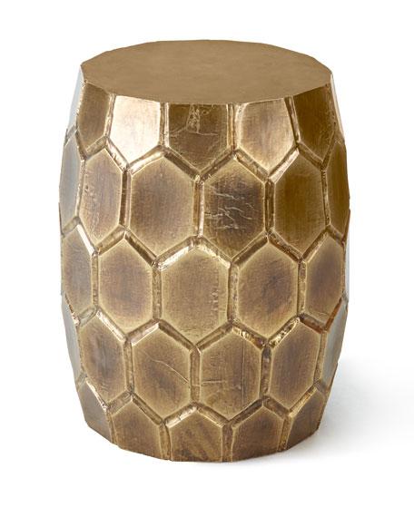 Exceptional Melisande Honeycomb Garden Stool