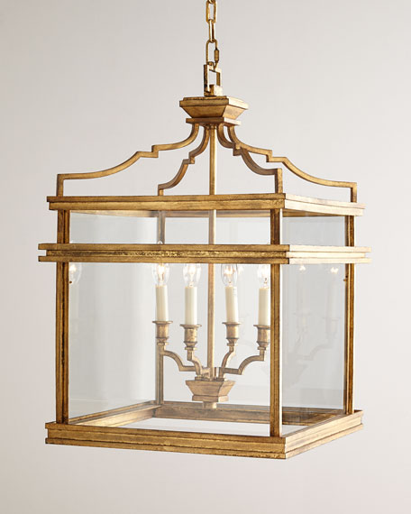 Chapman & Myers Mykonos 4-Light Lantern