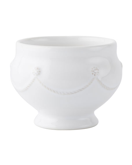 Berry & Thread Footed Soup Bowl