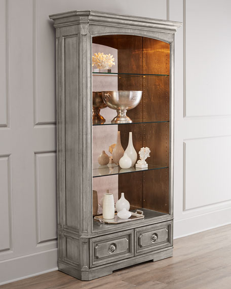 Westwood Mirrored Bookcase