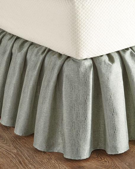 King Gold Coast Manor Aqua Dust Skirt
