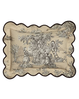 Toile Pillow, 12
