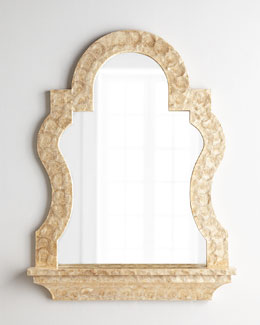 Laurelei Shell Mirror