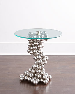 Raquel Sphere Side Table