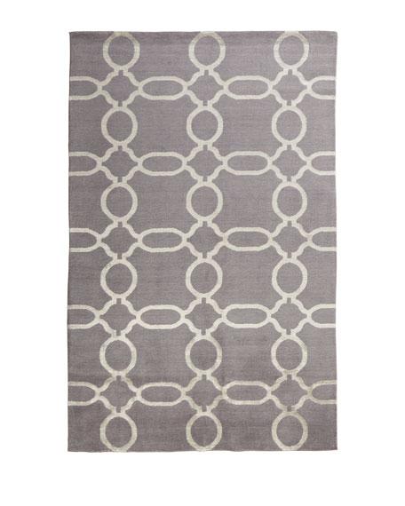 Gray Links Rug, 10' x 14'