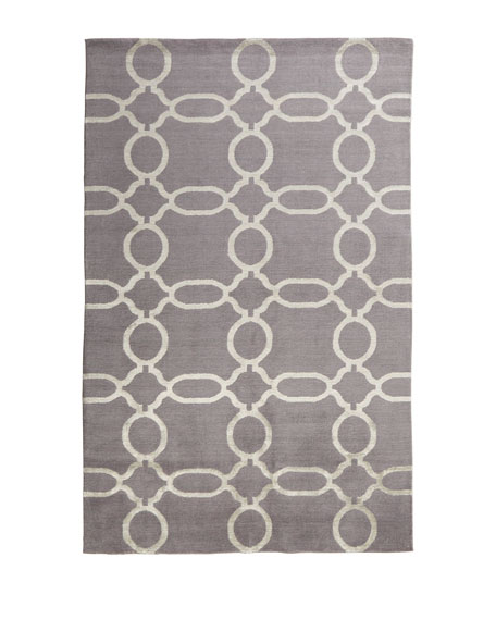 "Gray Links Runner, 2'6"" x 10'"