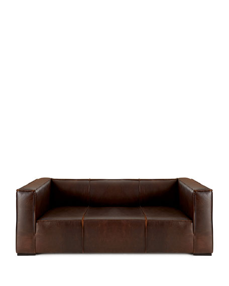 Mathis Leather Sofa