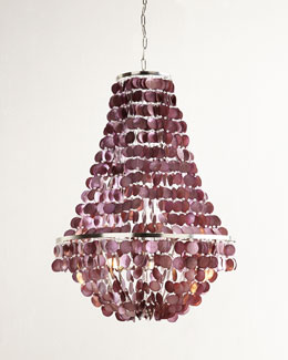 Blythe Two-Light Capiz Chandelier