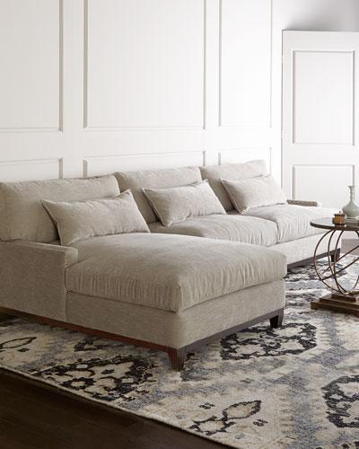 Rena Left-Facing Sectional Sofa 129.5
