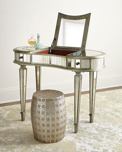 Mirrored Furniture Coffee Tables Amp Cabinets At Neiman