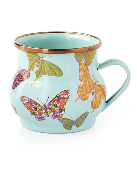 Butterfly Garden Sky Mug