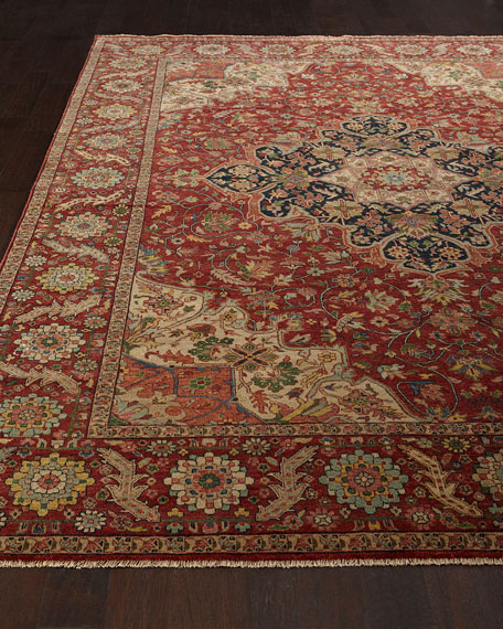 Exquisite Rugs Royal Garden Serapi Rug, 8' x