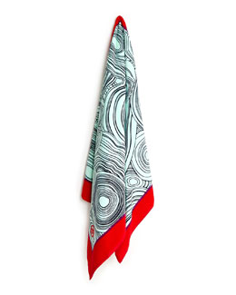 Malachite Beach Towel