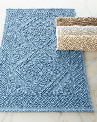 Quick Look. Bath Rugs  Designer Bath Mats   Bathroom Mats at Horchow